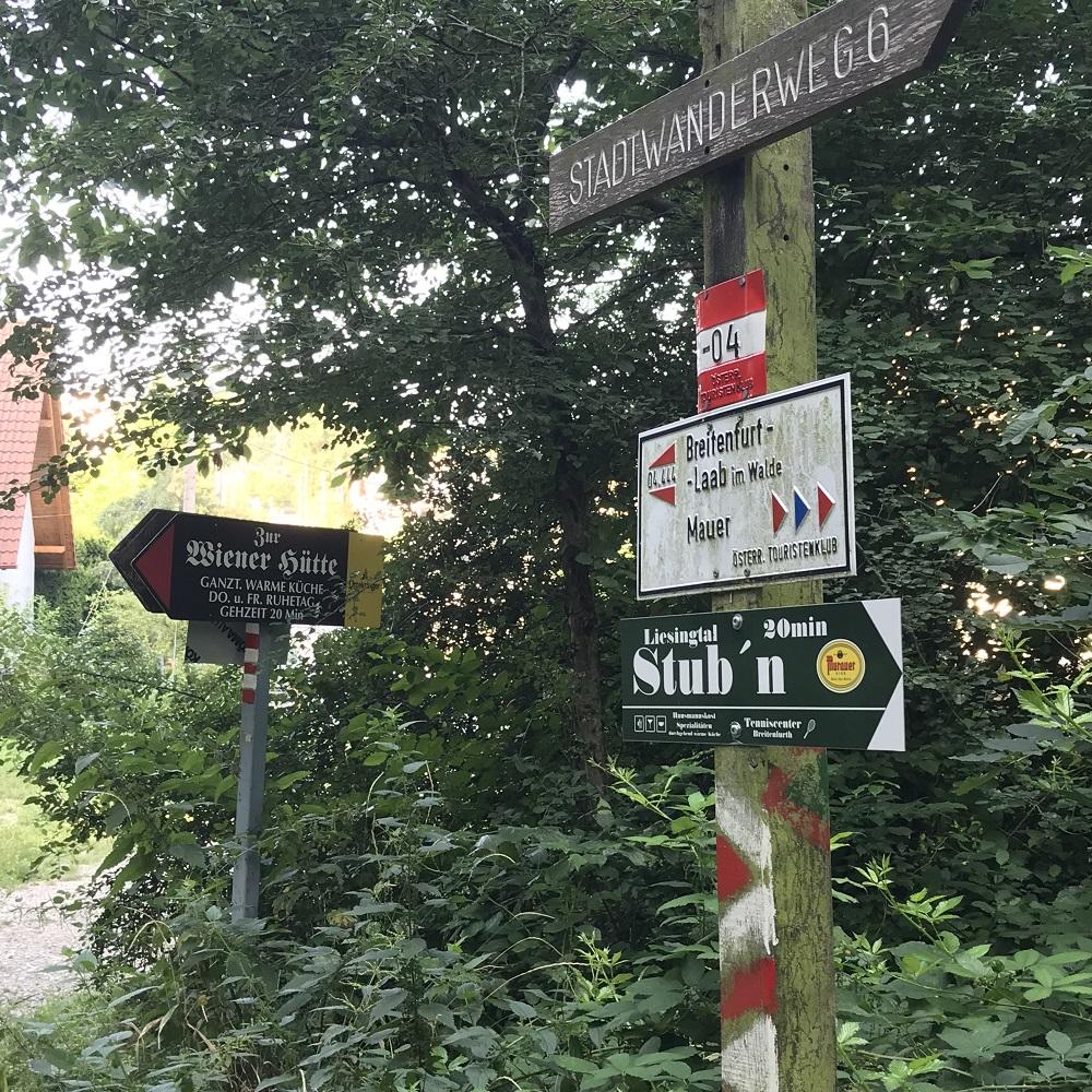 Aufstieg zur Wiener Hütte