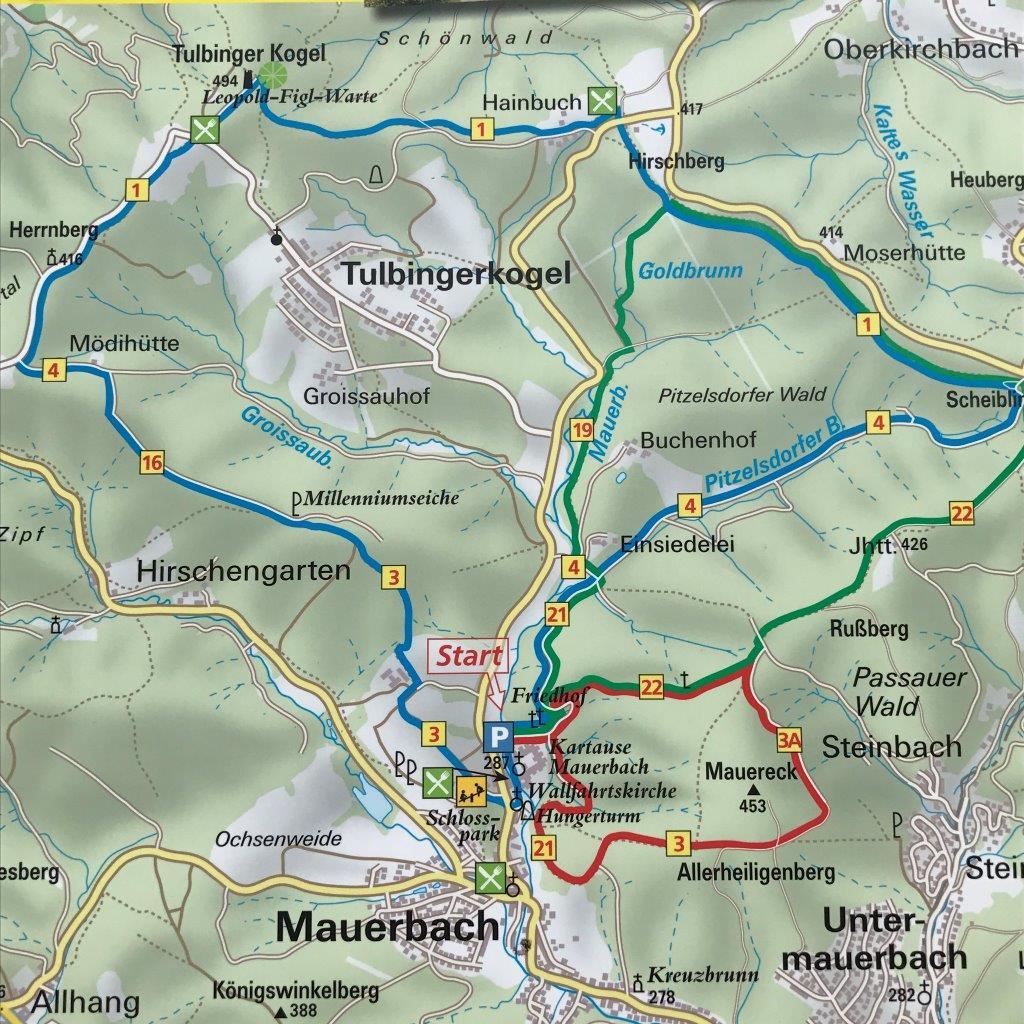 Wandern in Mauerbach