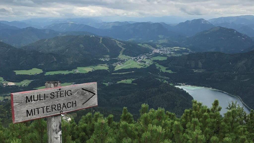 Muli-Steig nach Mitterbach