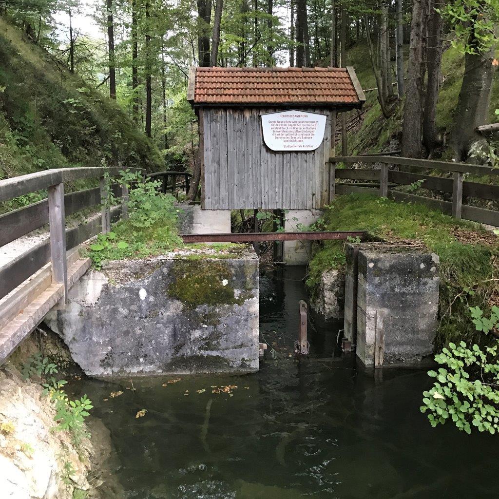 Abstieg vom Hechtsee zum Parkplatz