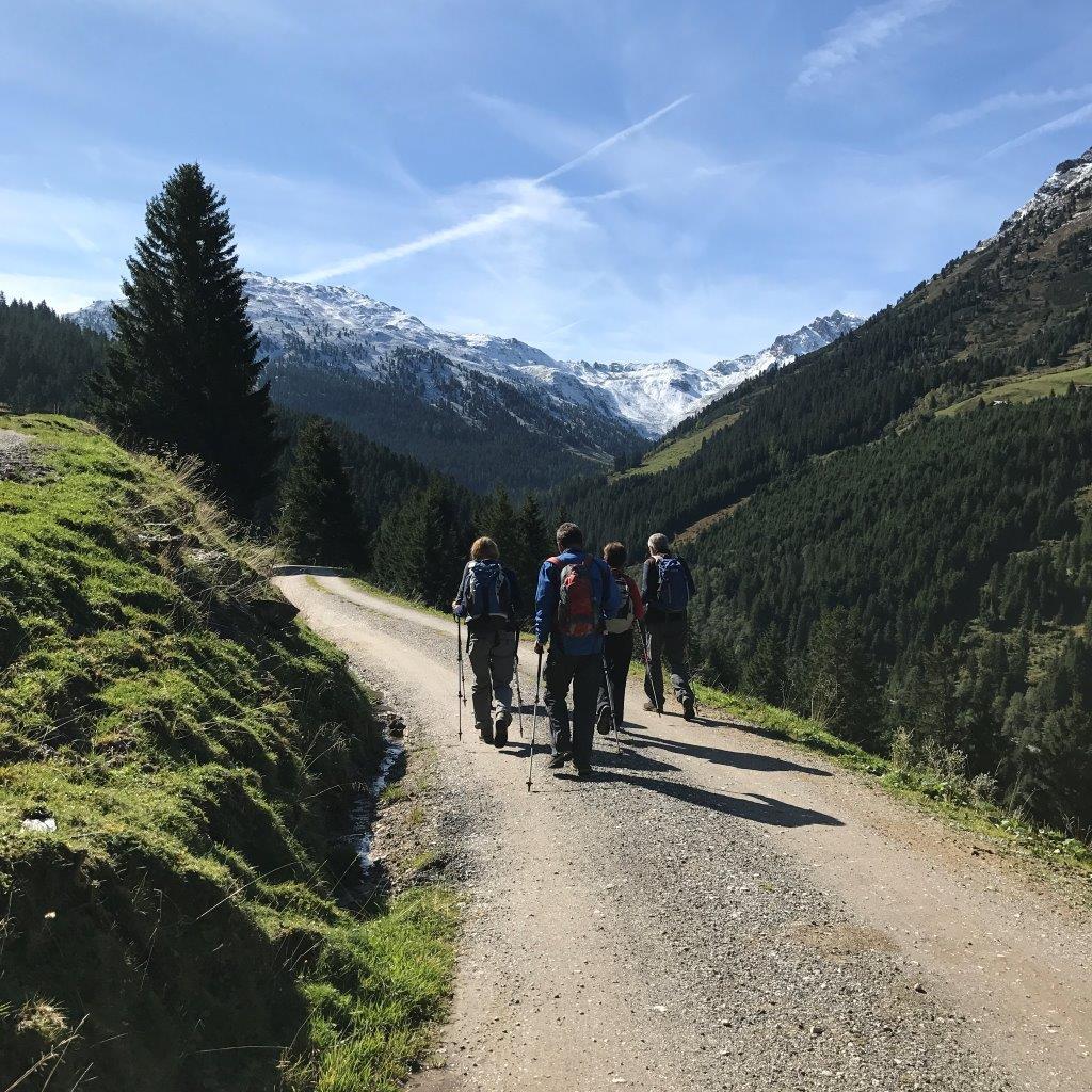 Weg zur Weidener Hütte