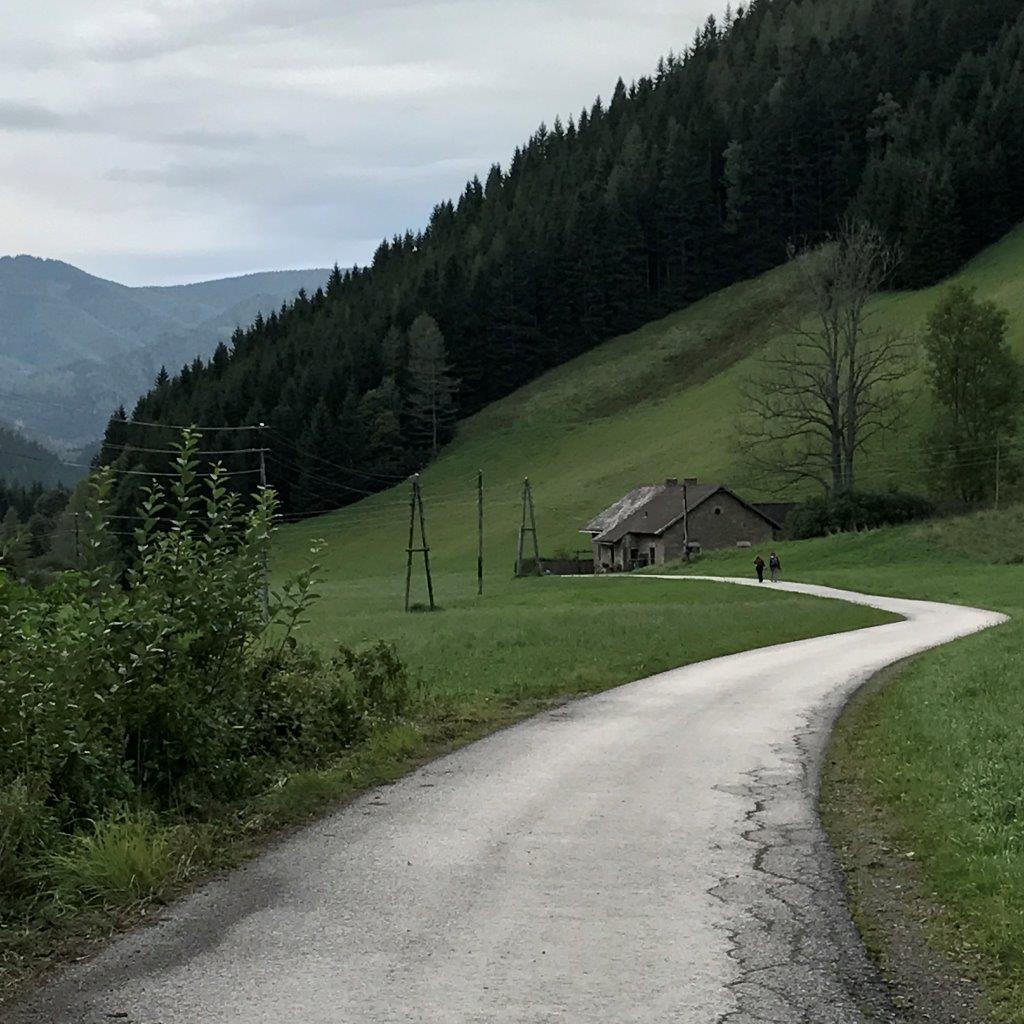 Abstieg nach Altenberg