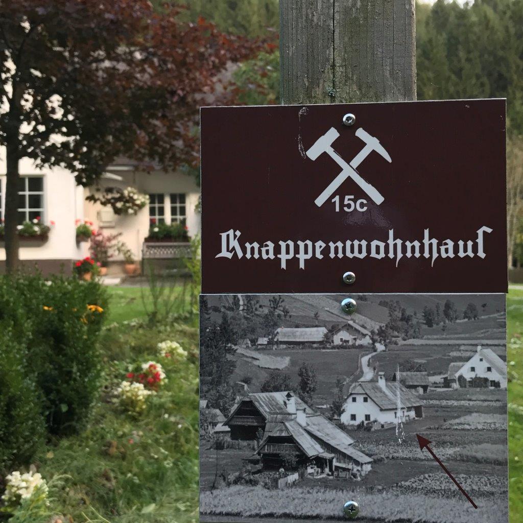 ehemaliges Knappenwohnhaus in Knappendörfl