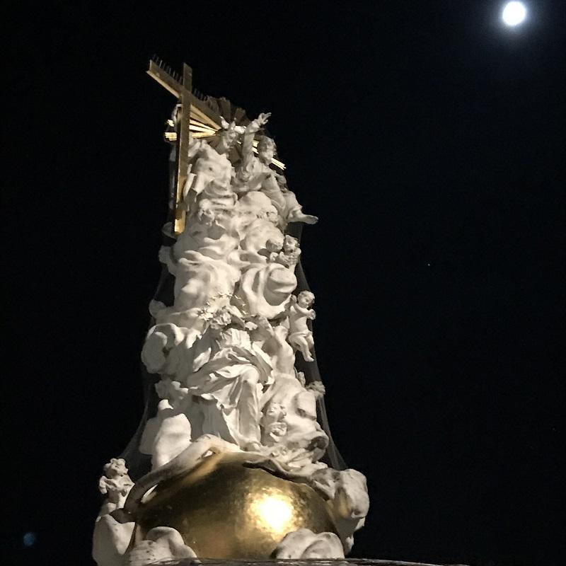 Dreifaltigkeitssäule am Rathausplatz