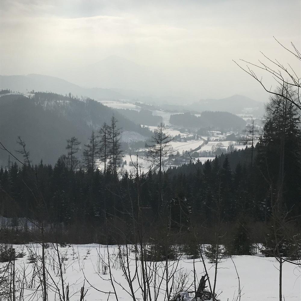 Blick Richtung Mariazell