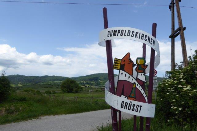 Thermenradweg bei Gumpoldskirchen