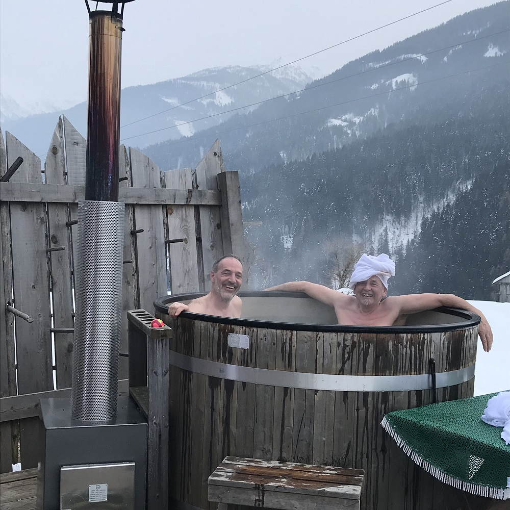 Sauna Familienbauernhof Mesner