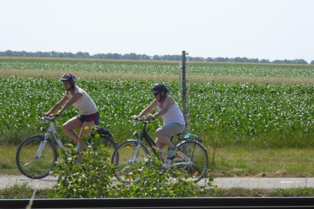 mit dem Rad von Zurndorf nach Kittsee