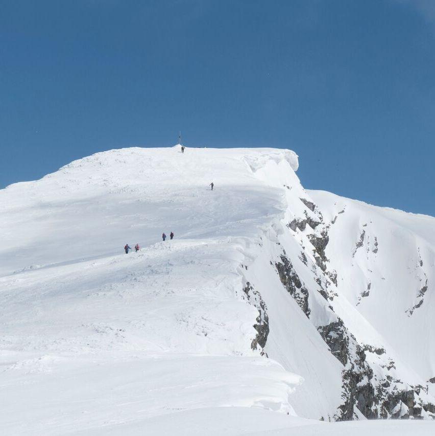 Gipfelanstieg Ötscher