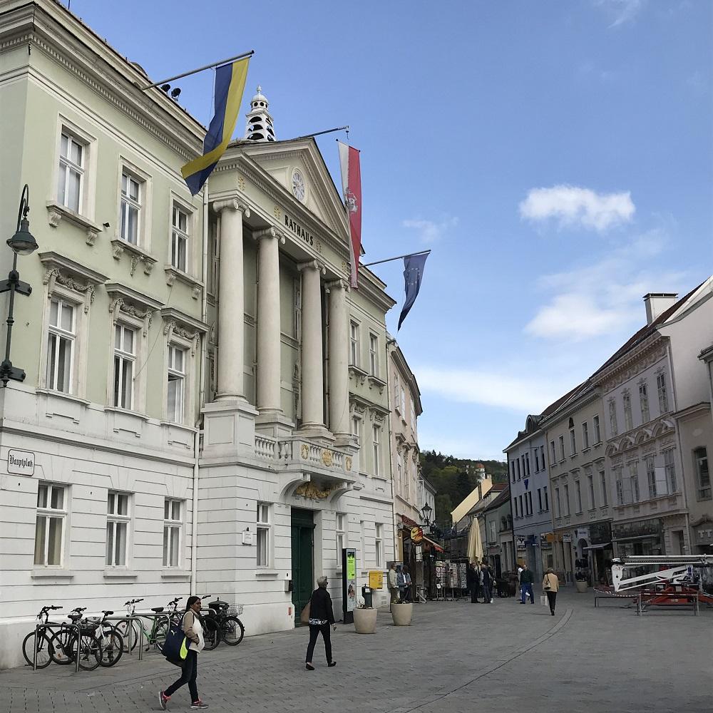 Rathaus in Baden