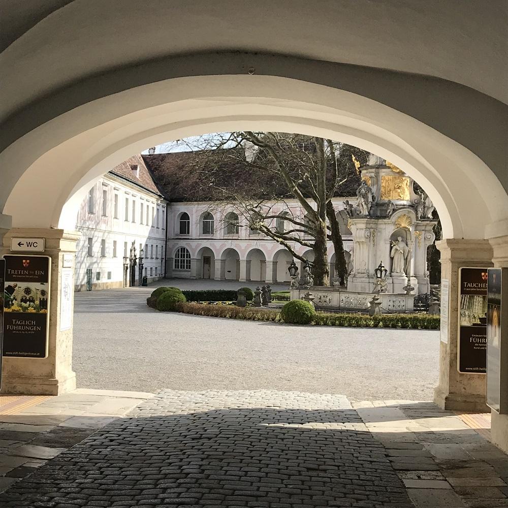 Eingang zum Stiftshof