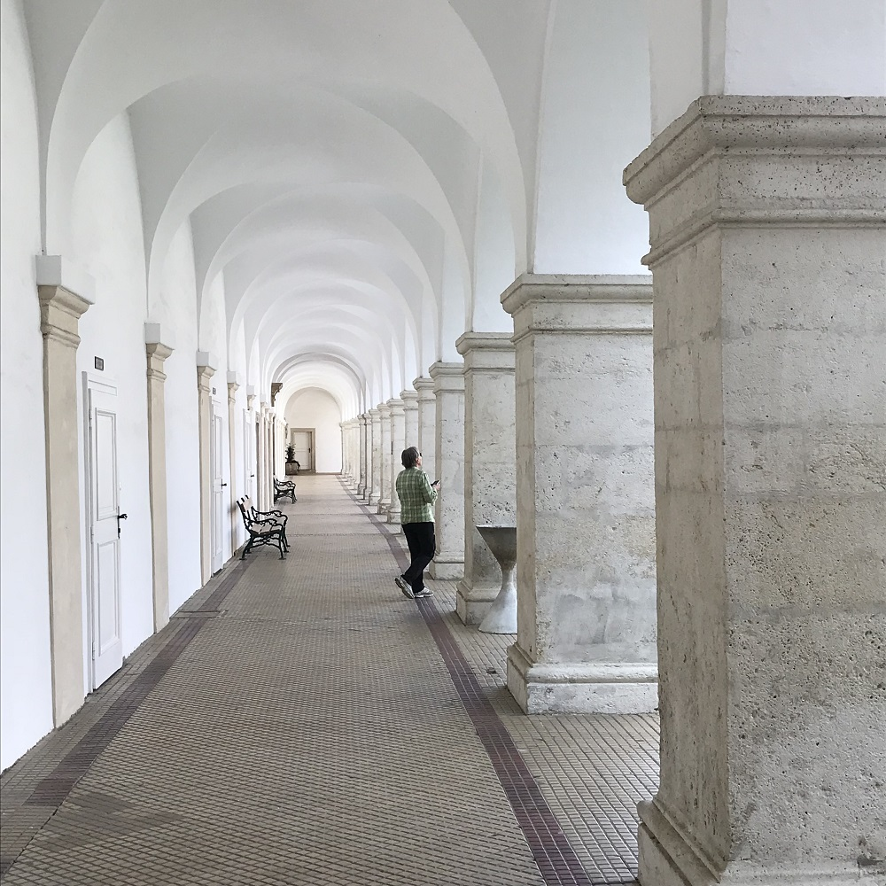 Arkaden im Stiftshof