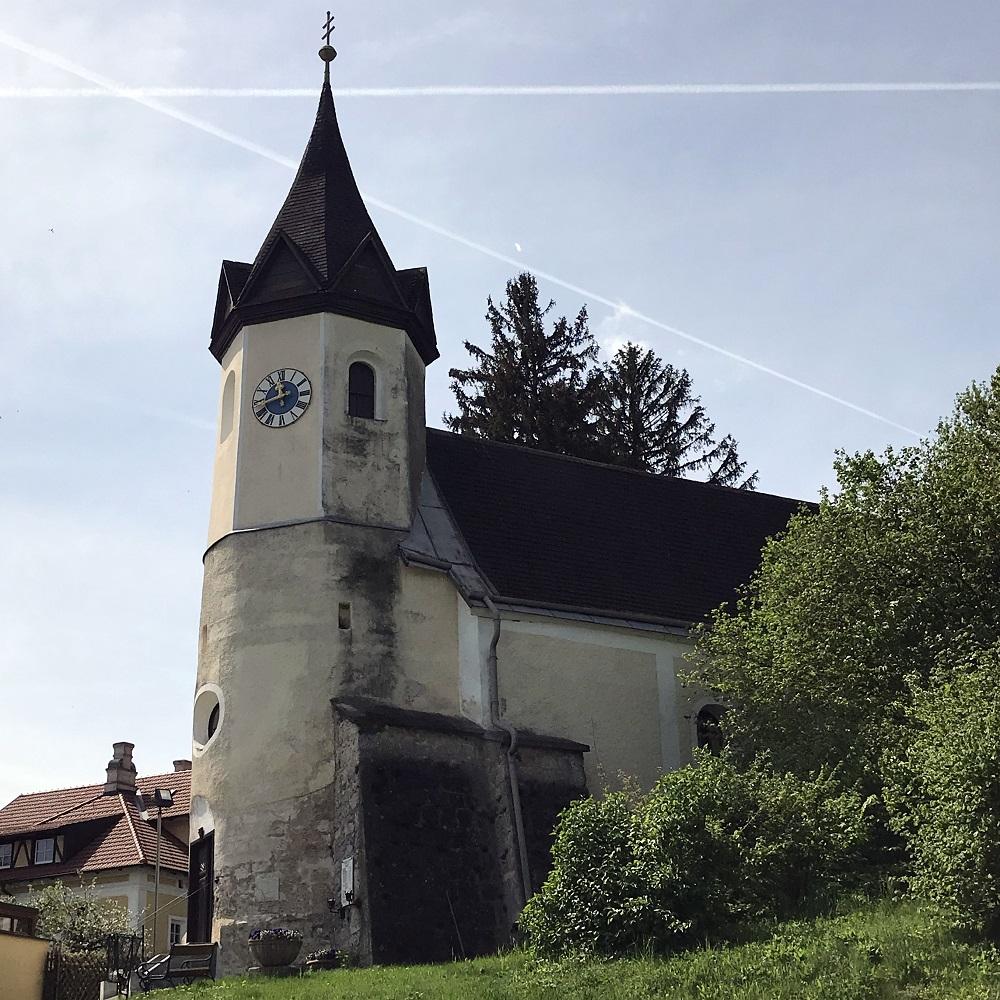 romanische Pfarrkirche in Sittendorf