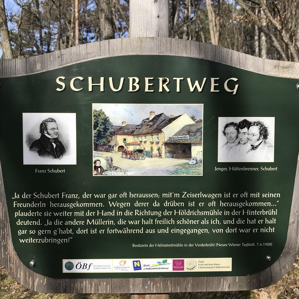 Schubertweg zum Husarentempel