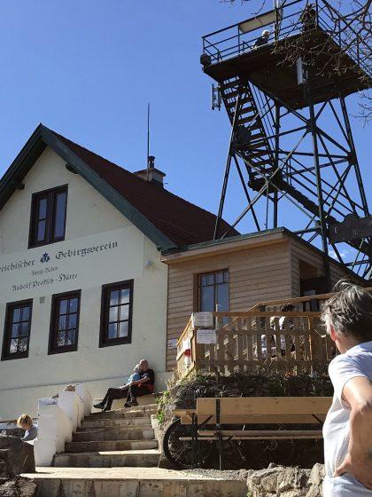 Rudolf Proksch - Hütte am Pfaffstättner Kogel