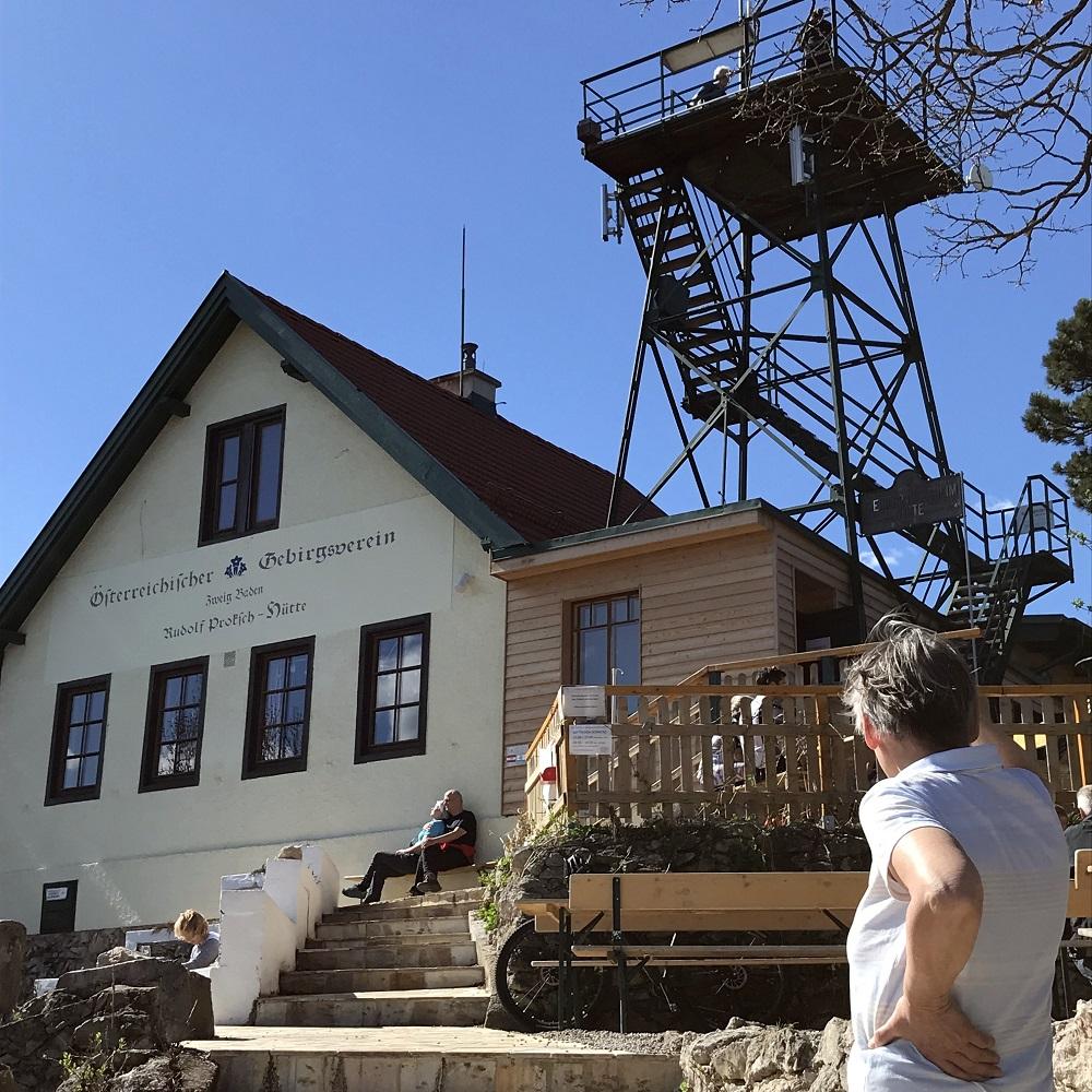 Rudolf Proksch-Hütte am Pfaffstättner Kogel