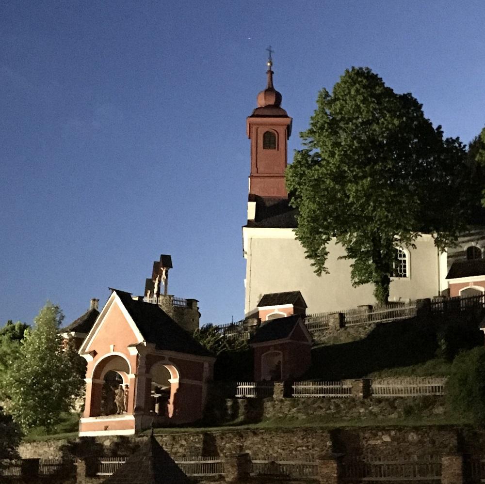 Der barocke Kreuzweg in St. Radegund