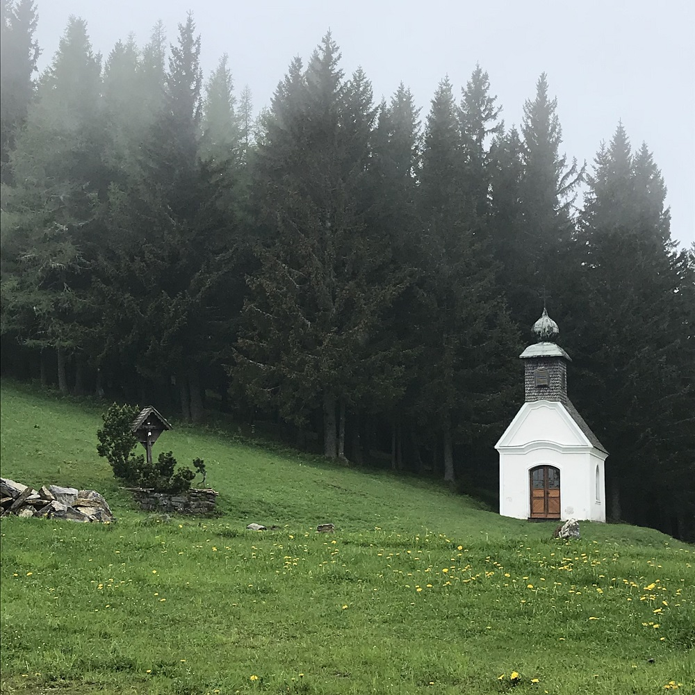 Kapelle auf der Sommeralm