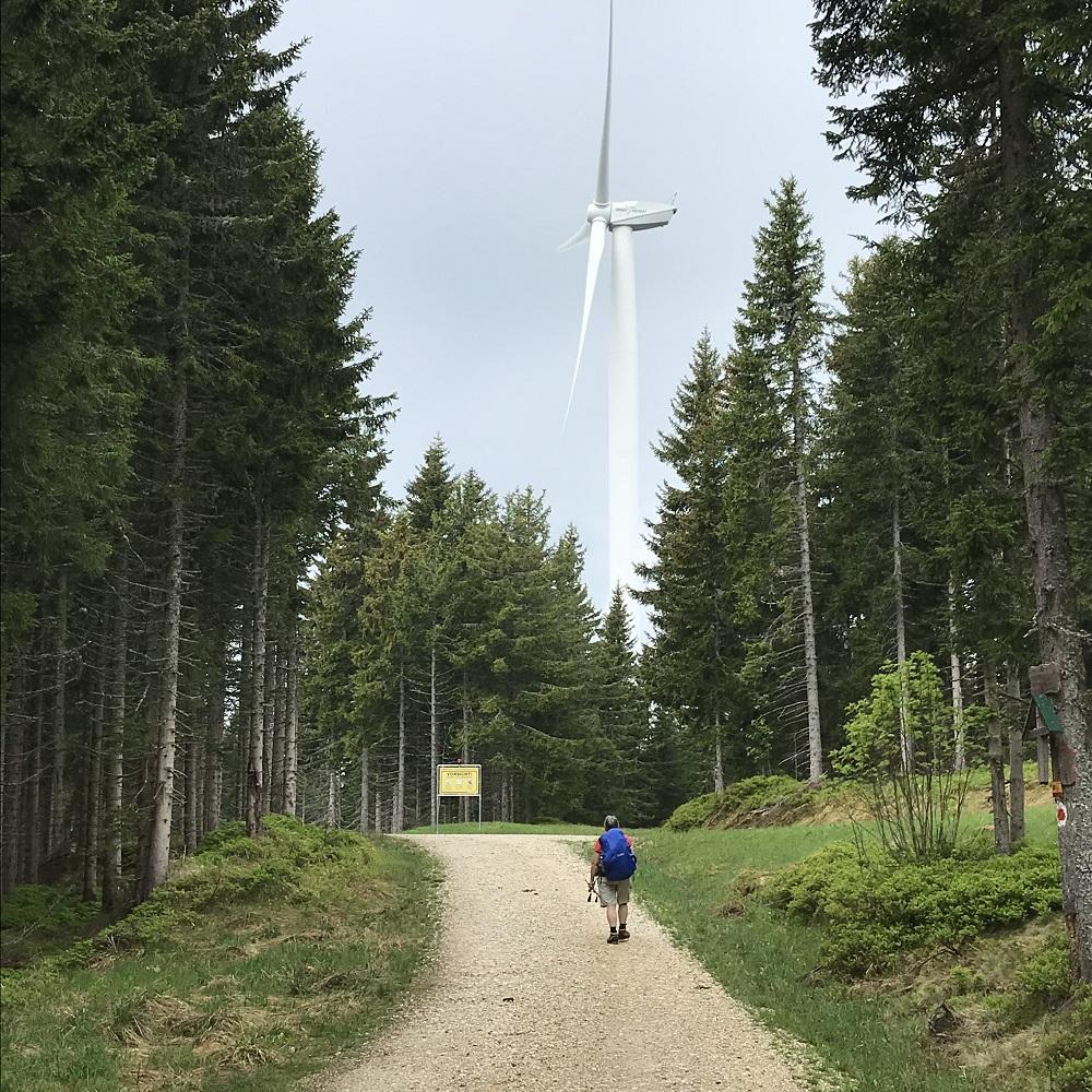 Windpark Hochpürschtling.