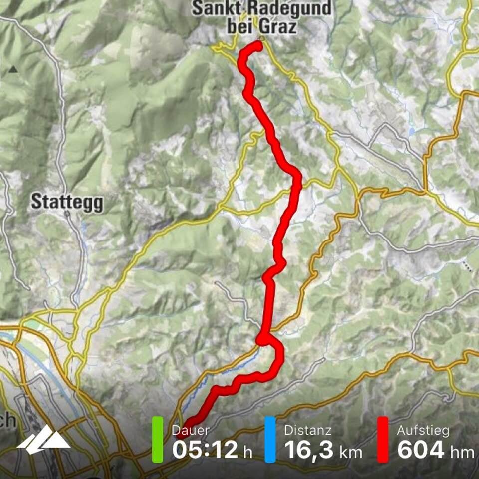 Bergfex: Graz - St. Radegund