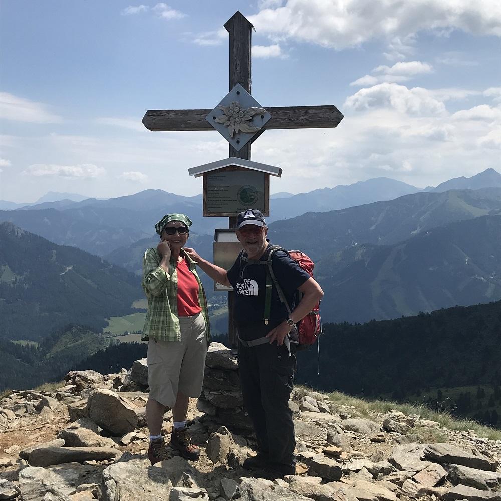 Gipfel Hauseck