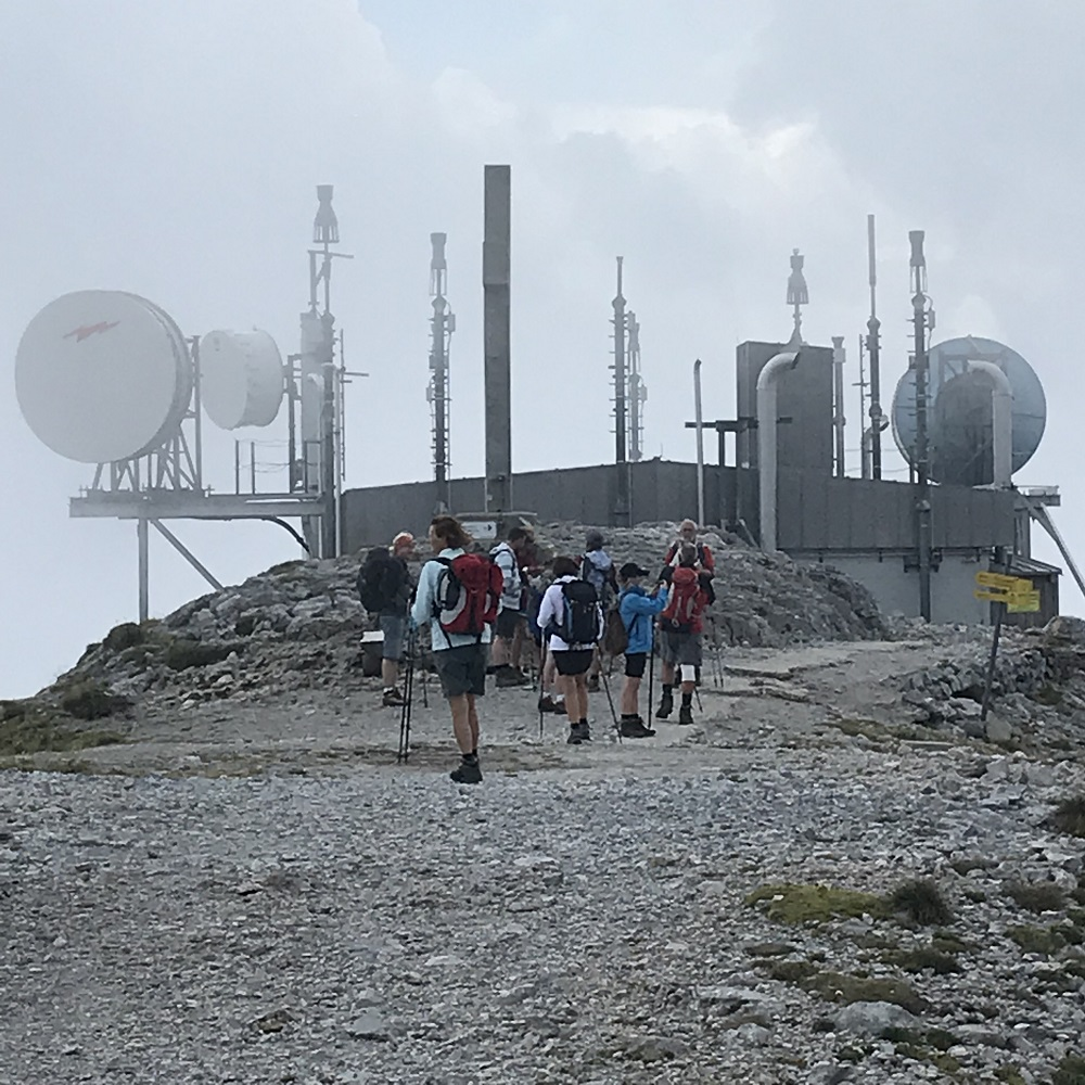 Radarstation am Klosterwappen (2.076 m)