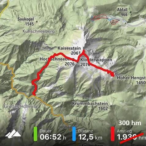 Tracking Schneeberg