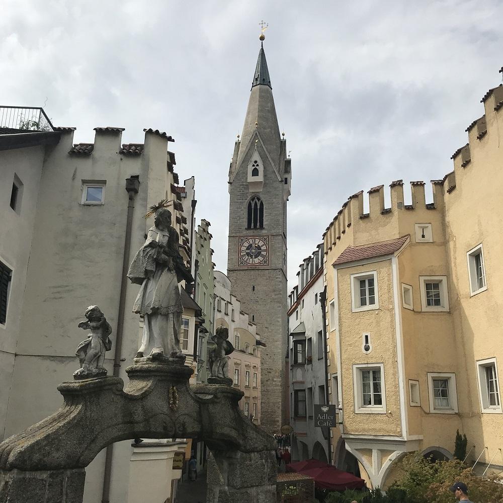verwinkelte Gassen der Altstadt Brixen
