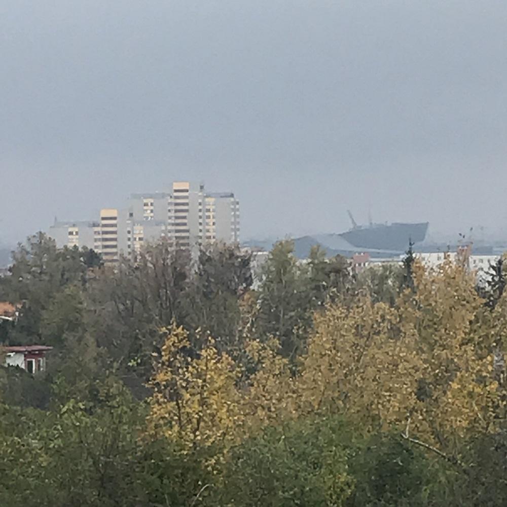 Blick von der Löwygrube zum T-Mobile-Gebäude
