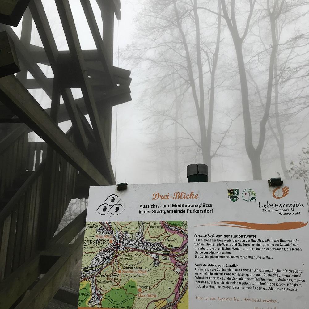 Rudolfswarte auf der Rudolfshöhe