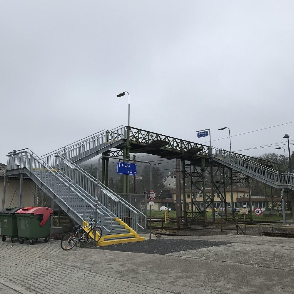 Bahnübergang Unter-Purkersdorf.