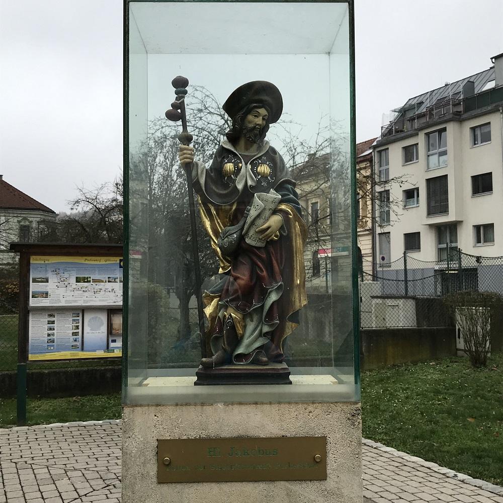 St. Jakobus Patron der Pfarrkirche Purkersdorf