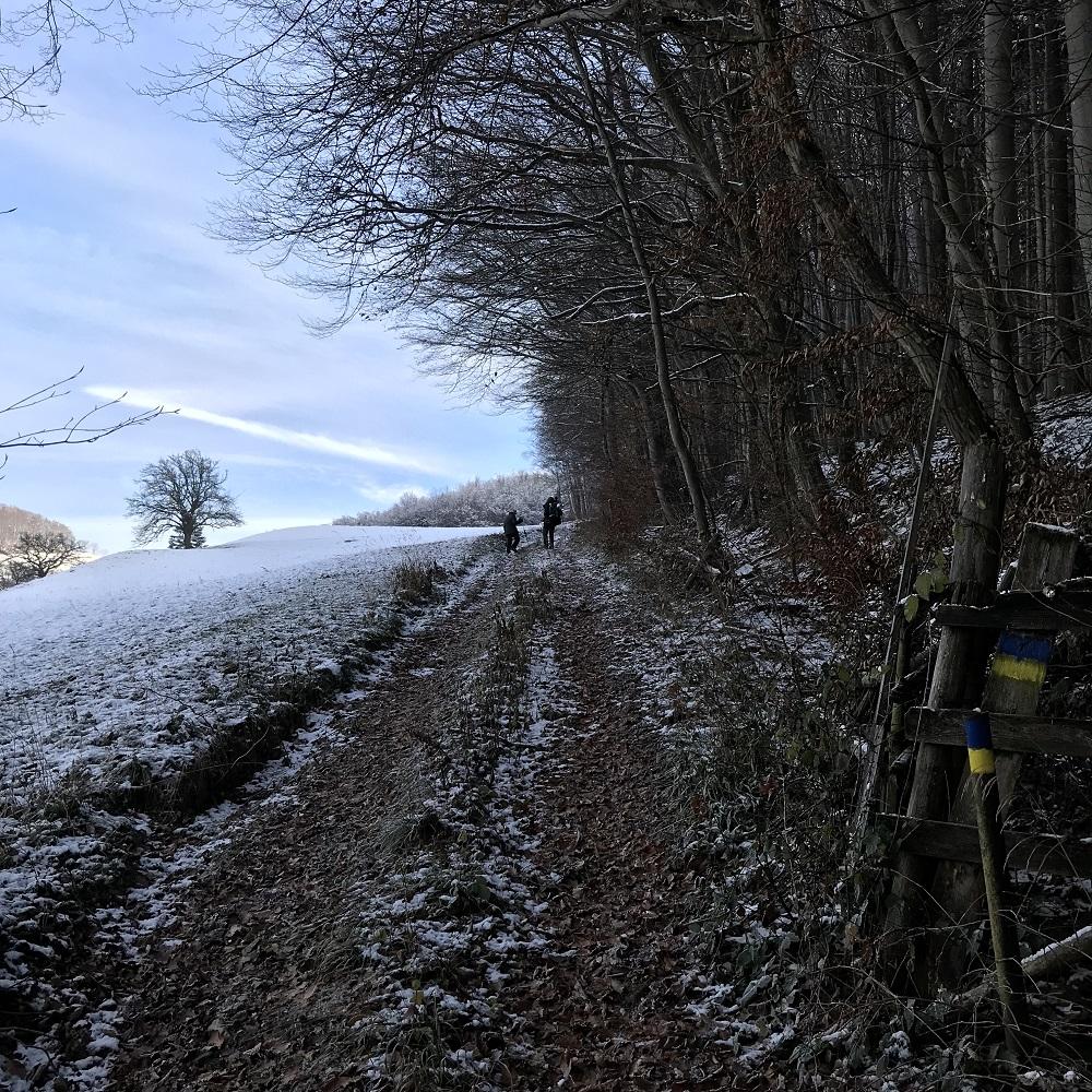 Aufstieg Richtung Stockerhütte