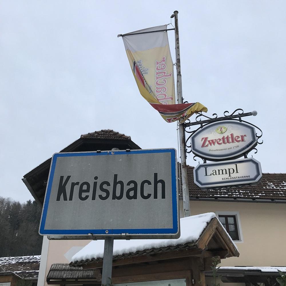 Schlosstaverne Lampl im Kreisbach
