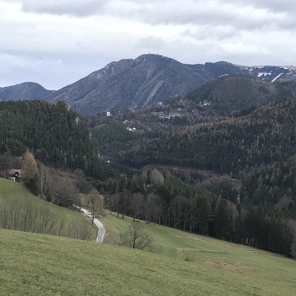 Blick zum Sonnwendstein