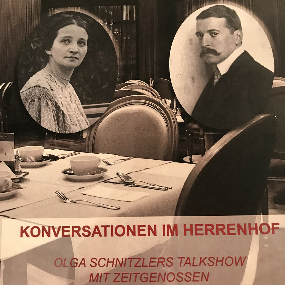 Konversationen im Herrenhof