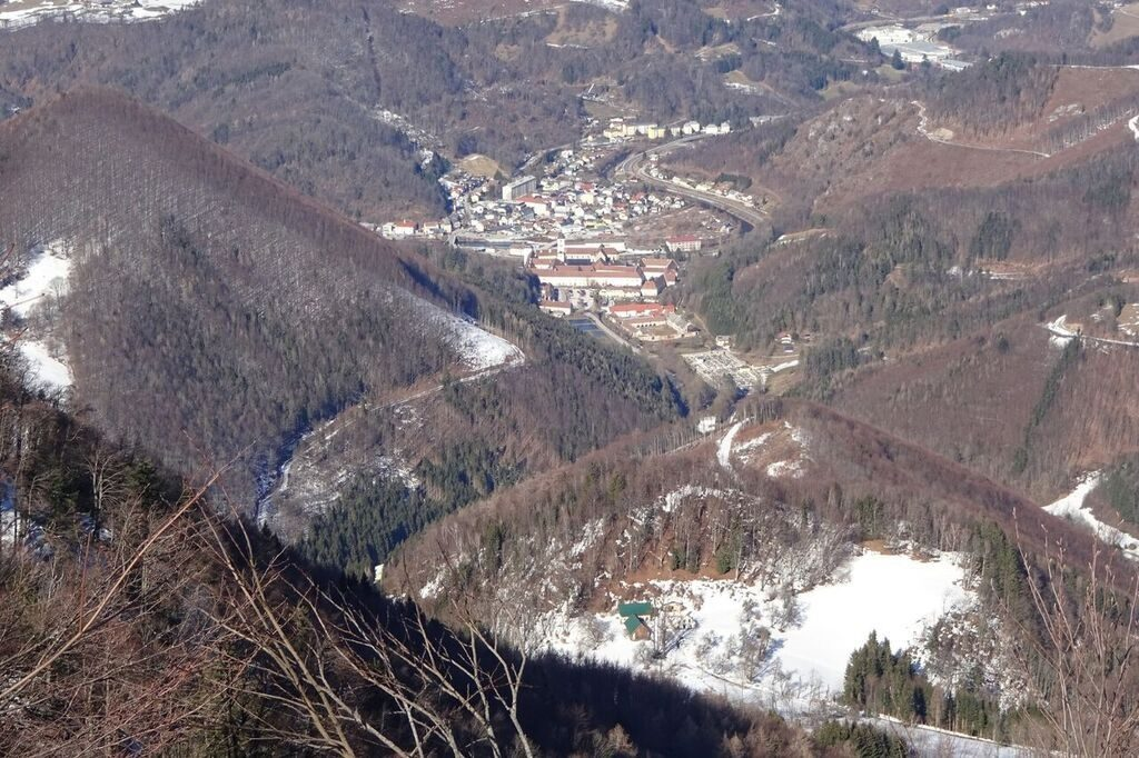 Blick auf Lilienfeld