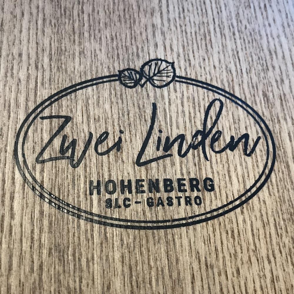 Speisekarte Zwei Linden
