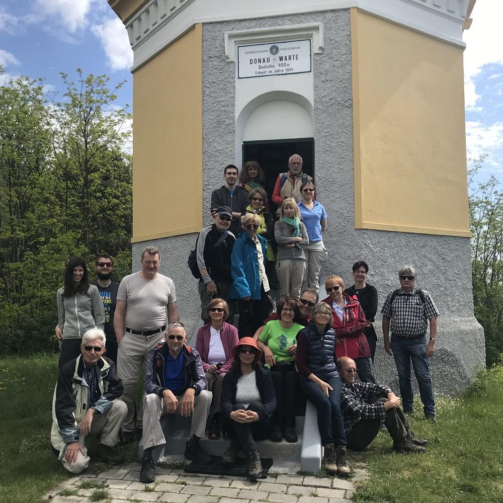 Donauwarte - bei Schönwetter an Wochenenden und Feiertagen geöffnet