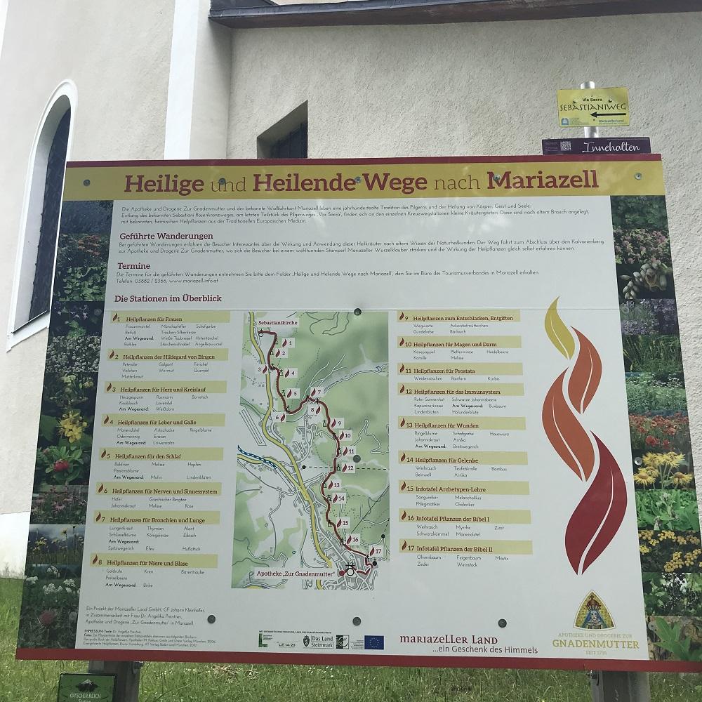 Heilende Wege nach Mariazell