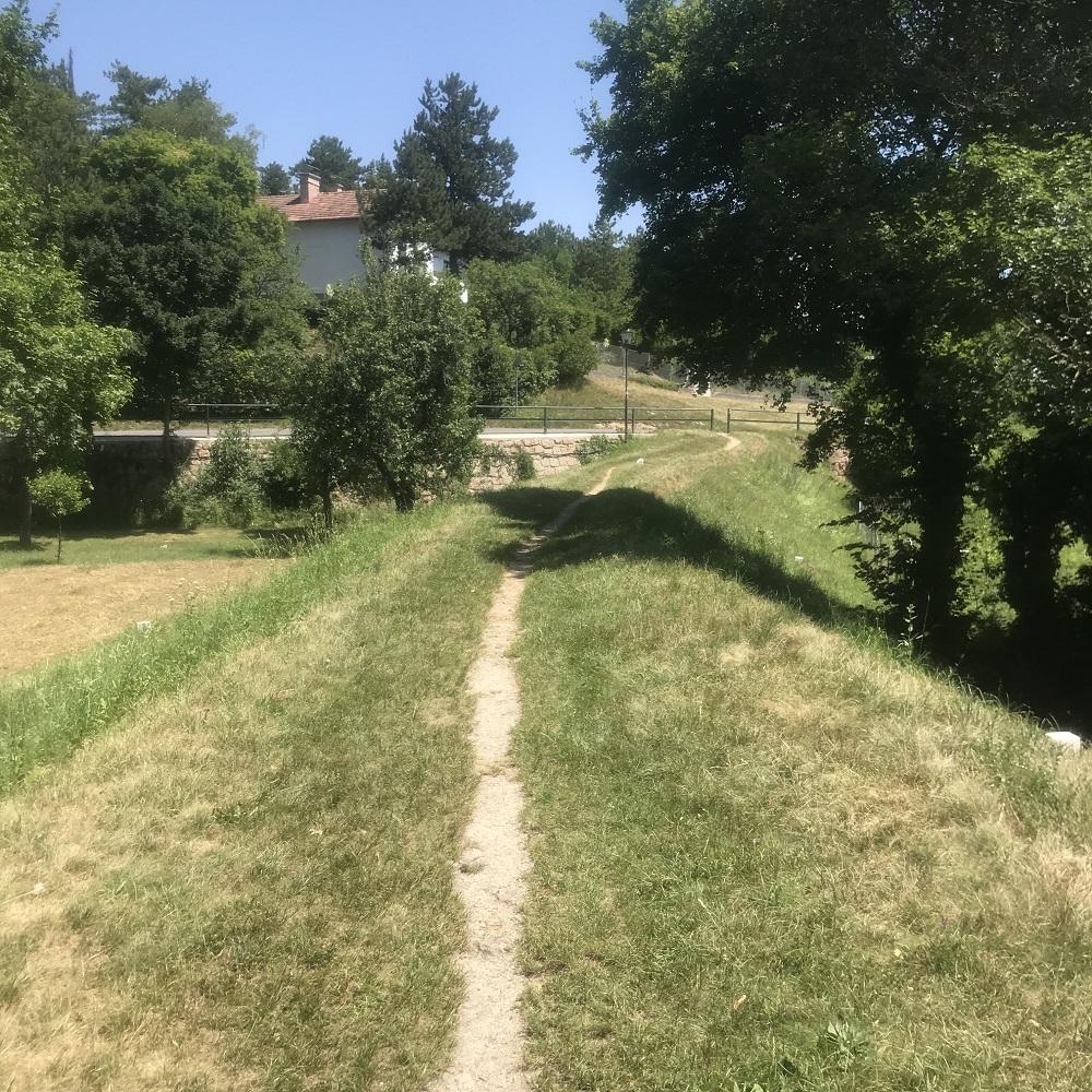 Trasse der Wiener Hochquellwasserleitung