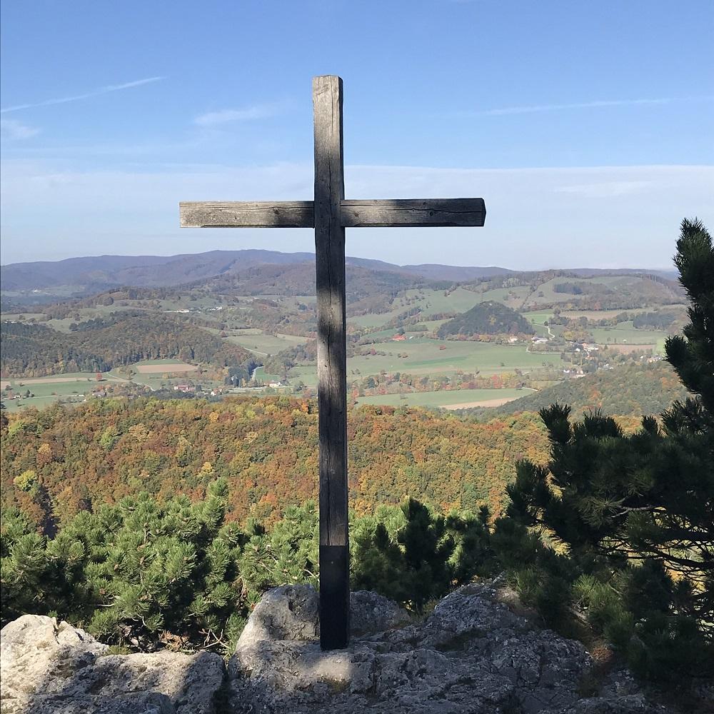 Gipfelkreuz Peilstein