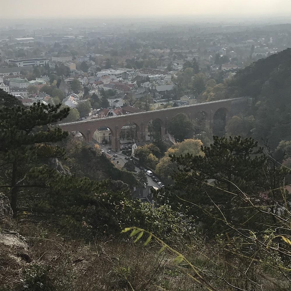 Aquädukt der 1. Wiener Hochquellenleitung über die Klause