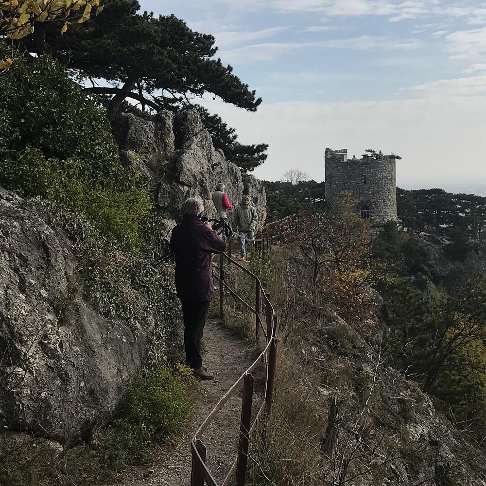 Felsensteig zum Schwarzen Turm