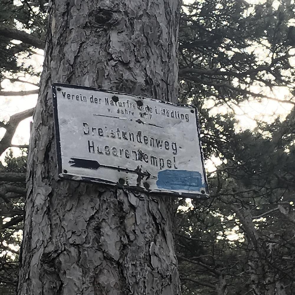 Markierung zum Husarentempel