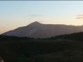 Sonnenaufgang über dem Schneeberg