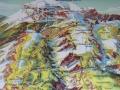 Panoramakarte mit Wanderwegen