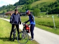 Das Tal wird weiter - der Radweg vor Altenmarkt