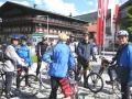 Erste kurze Rast in Altenmarkt im Pongau