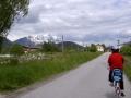 Der markierte Enntal-Radweg (R7) geht weiter die Enns entlang